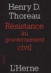 Résistance au gouvernement civil, La vie sans principes, Thoreau