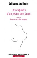 Les exploits d'un jeune Don Juan, suivi de Les Onze mille verges, Guillaume Apollinaire