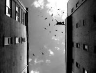 Le vide, Tenir, par Gabrielle Burel