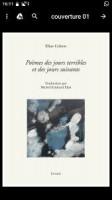 Poèmes des jours terribles et des jours suivants, Eliaz Cohen (par Marc Wetzel)