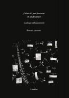 J'aime le mot homme et sa distance, Florence Pazzottu (par Didier Ayres)