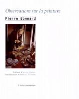 Observations sur la peinture, Pierre Bonnard