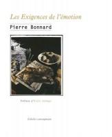 Les Exigences de l'émotion, Pierre Bonnard