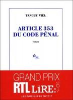 Article 353 du code pénal, Tanguy Viel
