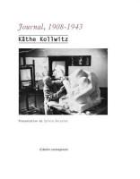 Journal, 1908-1943, Käthe Kollwitz (par Philippe Leuckx)