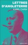 Lettres d'Angleterre, Karel Capek (2ème critique)