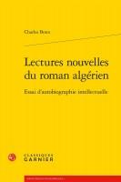 Lectures nouvelles du roman algérien, Charles Bonn