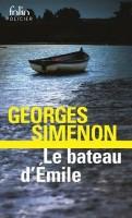 Le bateau d'Emile, Georges Simenon (Folio) - JJ. Bretou