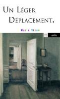Un léger déplacement, Marie Sizun