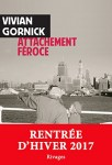 Attachement féroce, Vivian Gornick