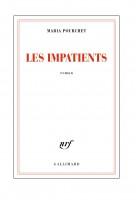 Les impatients, Maria Pourchet (par Sandrine Ferron-Veillard)