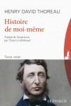 Histoire de moi-même, Henry David Thoreau (par Philippe Leuckx)