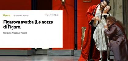 Les moments forts (34) « Les noces de Figaro » à Prague (par Matthieu Gosztola)
