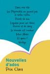 Nouvelles d'ados, Prix Clara, Collectif