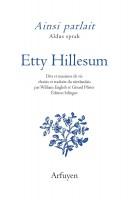 Ainsi parlait, Etty Hillesum (par Didier Ayres)