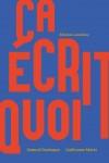 Ça écrit quoi, Samuel Deshayes, Guillaume Marie (par Didier Ayres)