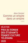 Comme un empire dans un empire, Alice Zeniter (par Sylvie Ferrando)