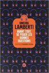 Avant tout, se poser les bonnes questions, Ginevra Lamberti
