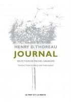 Journal, Henry D. Thoreau (sélection de Michel Granger