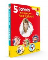 5 contes racontés par Anne Richard (Rocher) - V. Scemama