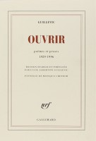 Ouvrir, Guillevic