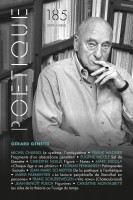 Poétique 185, Revue de théorie et d'analyse littéraires, Gérard Genette (par Yasmina Mahdi)
