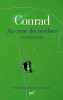 Au cœur des ténèbres et autres écrits Joseph Conrad (La Pléiade) - M. Gosztola