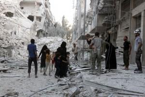 Je suis Alep, par Tawfiq Belfadel