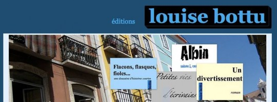 Editions Louise Bottu - un entretien