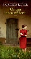 Ce qui nous revient, Corinne Royer (par Pierrette Epsztein)