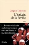 L'écrivain de la famille, Grégoire Delacourt