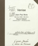 Venise, Jean-Paul Bota et David Hébert