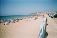Achille à la plage