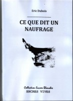 Ce que dit un naufrage, Éric Dubois