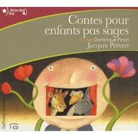 Contes pour enfants pas sages (CD), Jacques Prévert