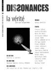 Dissonances, revue pluridisciplinaire, #36, Eté 2019 (par Marie du Crest)
