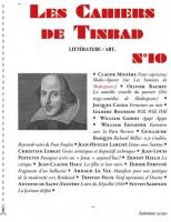 Les Cahiers de Tinbad, Littérature/Art, Automne 2020 et Tolstoï vivant, André Suarès (par Philippe Chauché)
