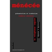 Ménécée, Le voluptueux inquiet : Réponse à Epicure, Frédéric Schiffter (par Philippe Chauché)