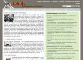 La revue Fabula. La recherche en littérature