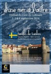 Des mots, des voix et des livres, entre Baltique et Méditerranée - Festival du livre de Collioure du 2 au 4 septembre 2016