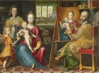 Ekphrasis 12 - Saint Luc peint