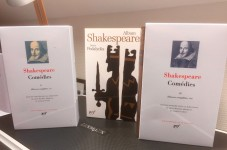 William Shakespeare, Comédies, tome II et III (+ album Shakespeare) en la Pléiade