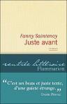 Juste avant, Fanny Saintenoy
