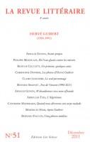 La Revue Littéraire (ed. Léo Scheer) N° 51 : Hervé Guibert