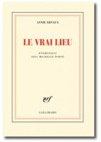 Le Vrai Lieu, Annie Ernaux