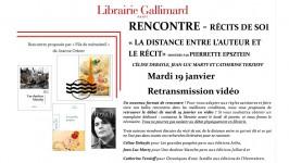 Suite au Fil de MémoireS, de Jeanne Orient, du mardi 19 janvier 2021 (par Pierrette Epsztein)