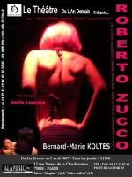 Moi, Je, Zucco, Bernard-Marie Koltès