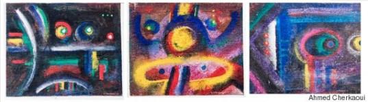 Regard sémiotique sur la peinture intemporelle d'Ahmed Cherkaoui, par Mustapha Saha