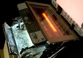 Les ardeurs de la photocopieuse, par Didier Bazy