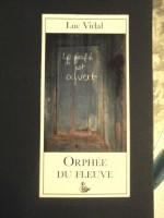 Orphée du fleuve, Luc Vidal - 1 - Une traversée vers la possibilité du bonheur